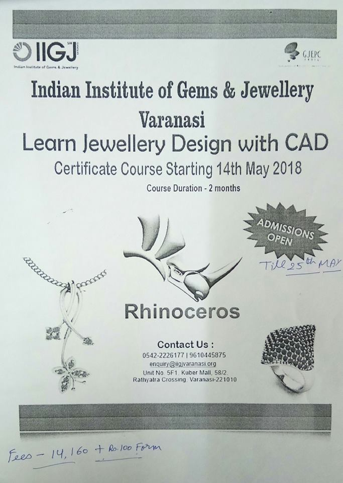 Learn Jewellery Design with CAD